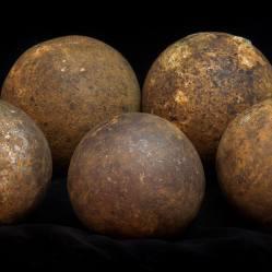 Civil War Cannon Balls