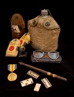 A collection of Civil War Items