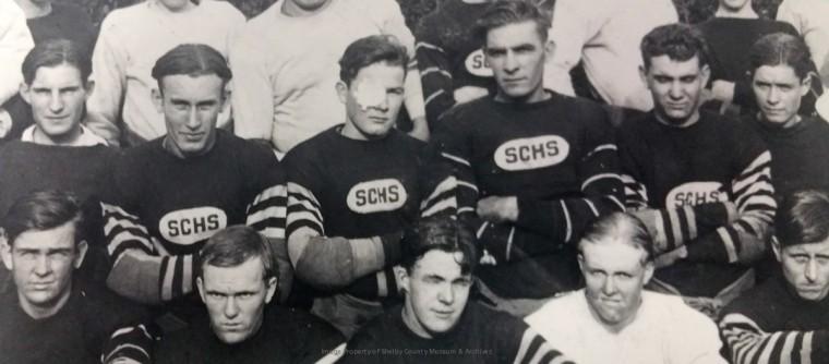 1924 SCHS FB Team