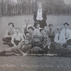 Shelby County High School Football Team, 1910-Photo From Museum's Digital Archive