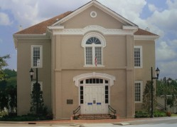 The Old 1854 Courthouse is home to the Shelby County Museum & Archives