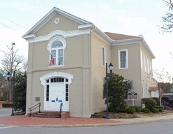 The Shelby County Museum is located in the round-about circle in Columbiana, AL.