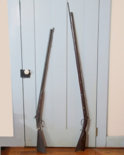 Kentucky Long Rifle and Shot Gun
