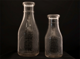 Kent Dairy Farm Milk Bottles