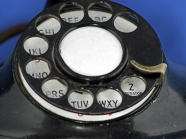 Rotary Dial of Western Electric Phone