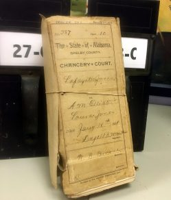 While other packets are thicker, such as this court case from 1889.
