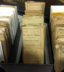 But there are other thousands of loose documents housed at the museum, many of which are very fragile.