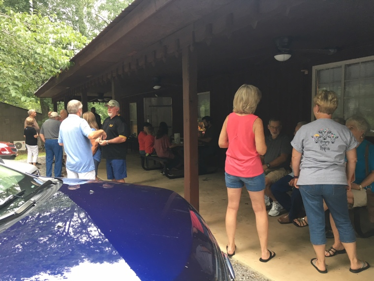 July 7 2018 Crowd Pancake Breakfast